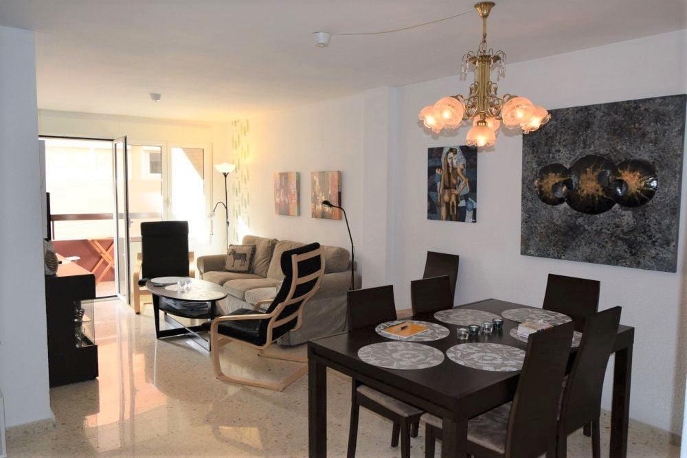 Renoverad lägenhet i Alicante centrum